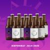 Cerveza 7 Vidas - 12 pack all together